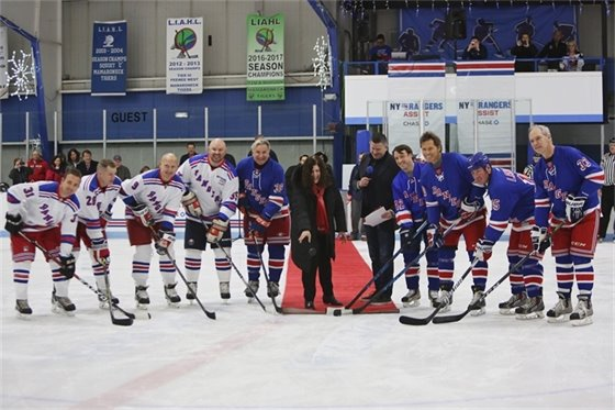 New York Rangers Alumni at Hommocks Ice Rink